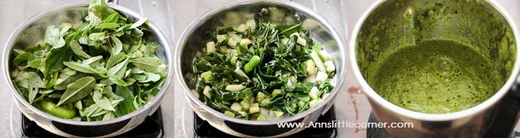 Palak Soup / Spinach Soup