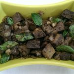 Mutton Liver Pepper Fry