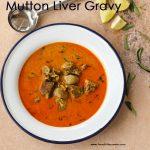 Mutton Liver Gravy