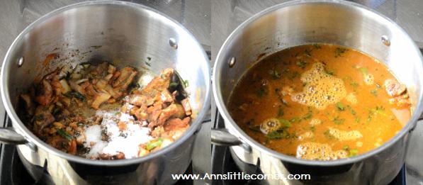 Mutton Liver Gravy step 6