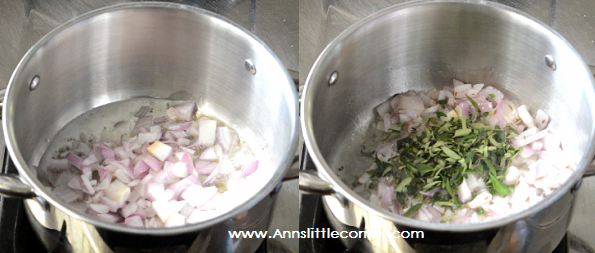 Mutton Liver gravy step 2