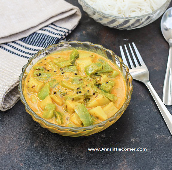 Potato Capsicum Gravy