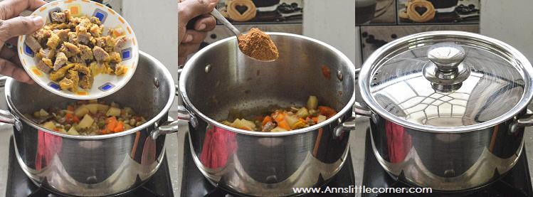 Vermicelli Mince Meat Briyani / Sevai Keema Briyani
