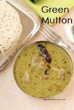 Green Mutton Masala