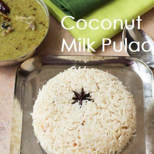 Plain Coconut Milk Pulao