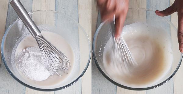 Carrot Banana cakestep
