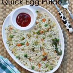 Quick Egg Pulao