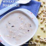 Wheat CowPEa Porridge