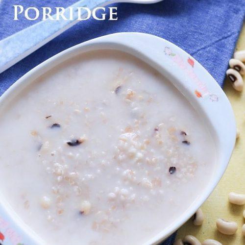 Wheat CowPea Porridge / Wheat Black Eyed Pea Porridge