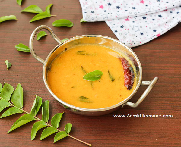 Kerala style Dal / Dal with Coconut