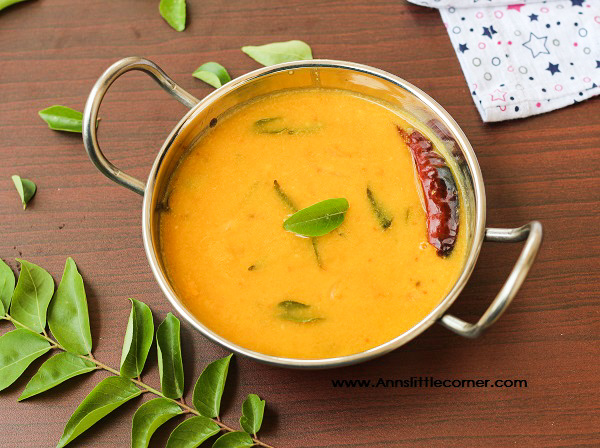 Kerala style Dal, Dal with Coconut