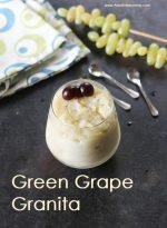 Green Grape Granita