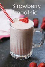 Strawberry Smoothie / Strawberry Lassi