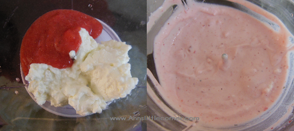 Strawberry Smoothie / Strawberry Lassi