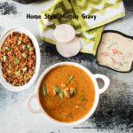 Home style mutton gravy