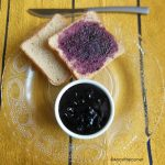 black grapes jam