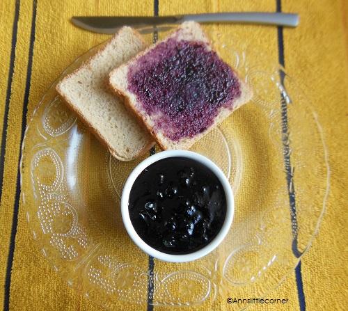 Homemade Black Grape Jam
