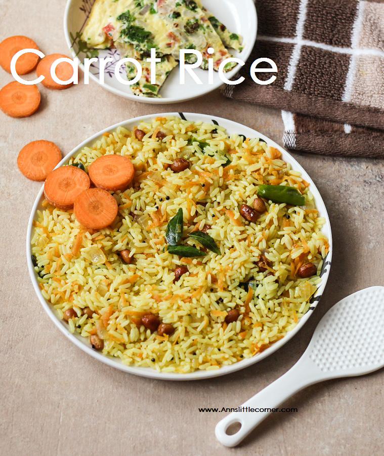 Carrot Rice / Carrot Sadam