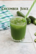 Cucumber Juice / Vellarikai Juice