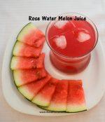 Rose Watermelon juice