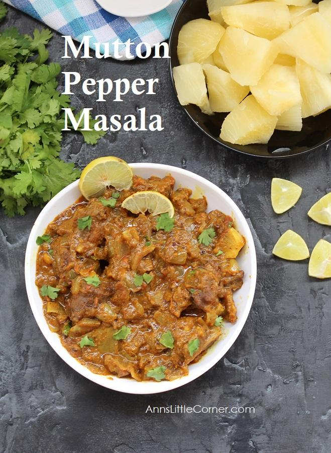Mutton Pepper Masala