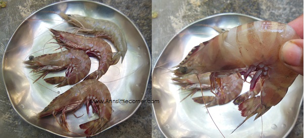 How to peel prawns