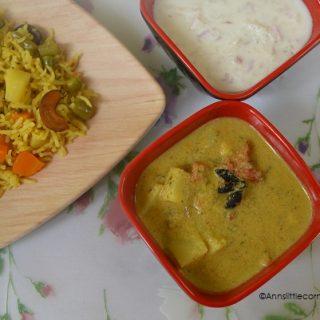 Potato Kurma | Aloo Korma