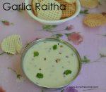 Garlic Raitha