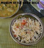 Muslim Style Ghee Rice