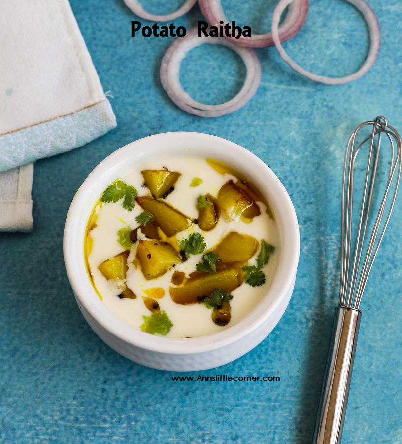Potato Raitha