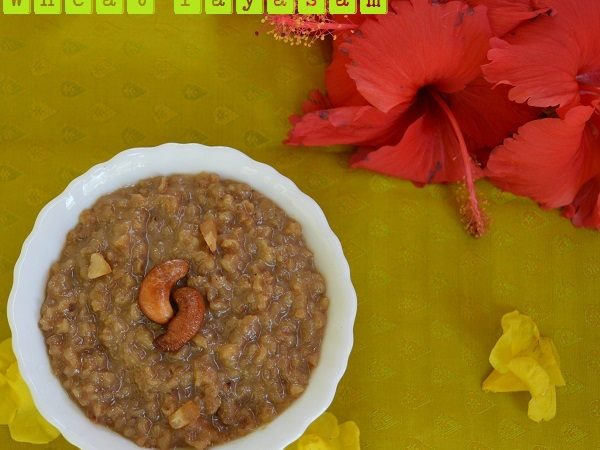 Broken Wheat Payasam / Gothambu Payasam / Wheat Kheer