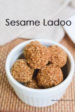 Sesame Ladoo