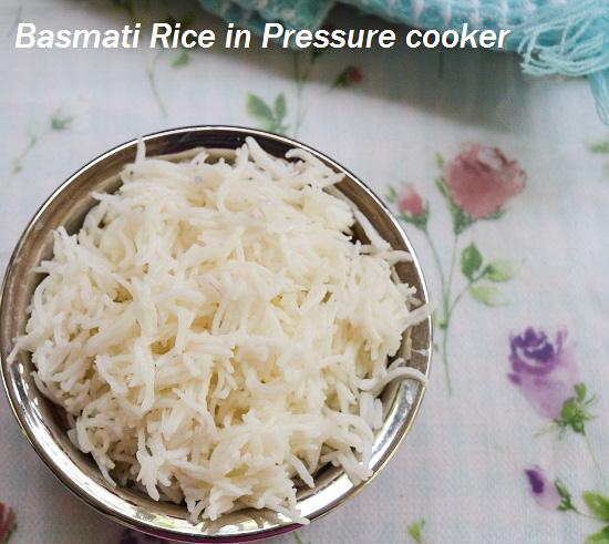 Basmati Rice in Pressure Cooker (2)