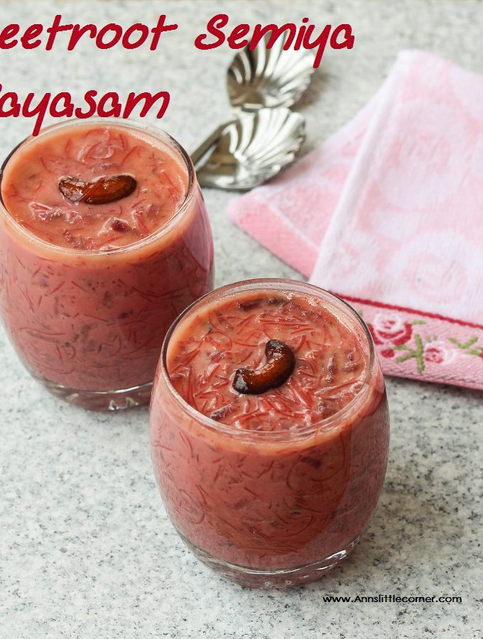 Beetroot Payasam