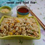 Corn Fried Rice