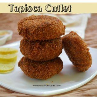Tapioca Cutlet