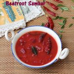 Beetroot Sambar