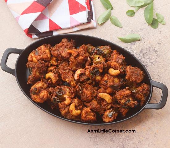 Andhra Style Chicken Roast / Kodi Vepudu