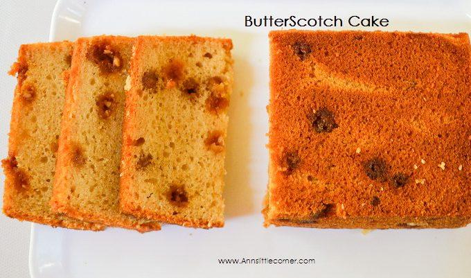 Butter Scotch Cake