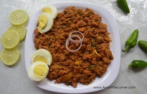 How to make Hyderabadi Keema – Mutton mince cooked with Spices – Hyderabadi style