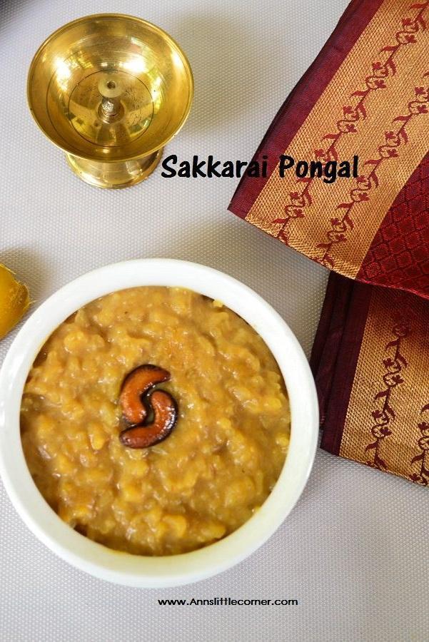 Sakakrai Pongal