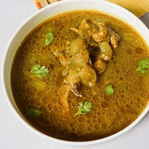 Coriander Chicken Curry | Kothamalli Chicken Curry