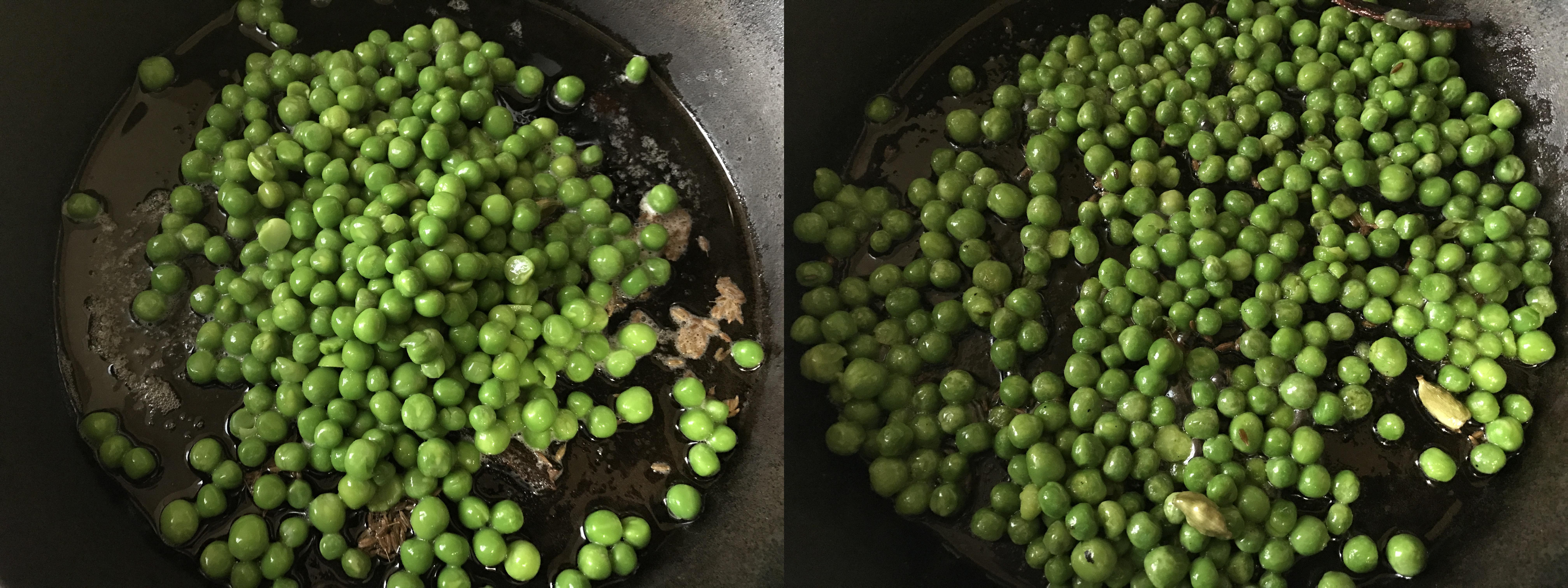 Green Peas Butter Masala