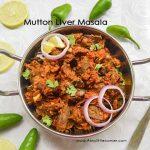 Mutton Liver Masala