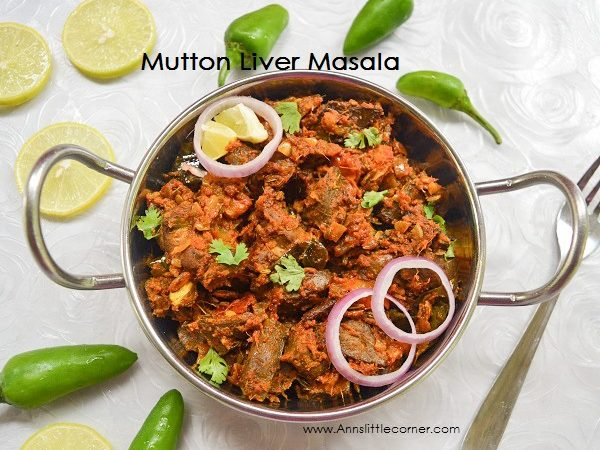 Mutton Liver Masala | Eeral Varuval