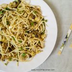 Shimeji Mushroom Egg Noodles