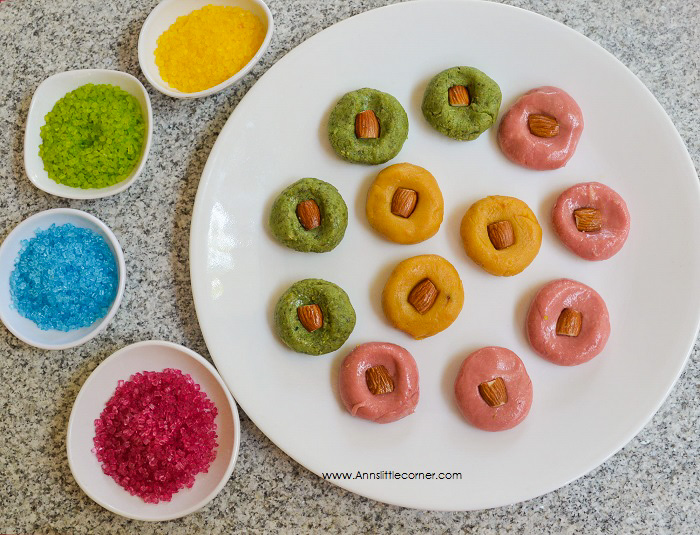 Colorful Milk Peda - Holi Recipe