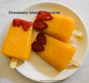 Strawberry Mango Popsicle