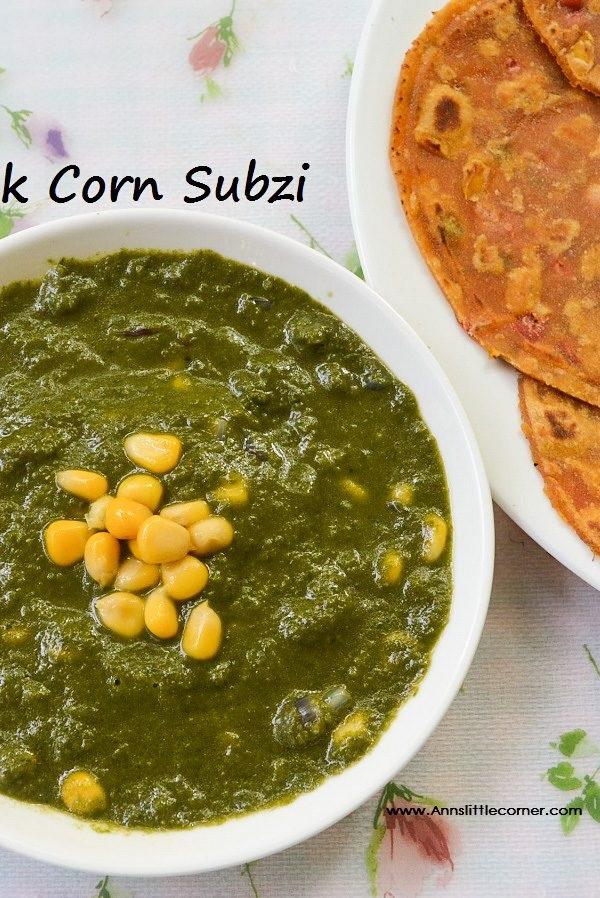 Palak Corn
