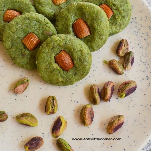Pista Milk Peda / Pistachio Milk Fudge